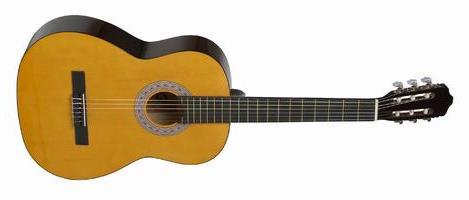 En spansk akustisk guitar