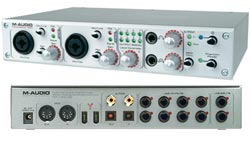 Det populære lydkort Firewire 410 fra M-audio
