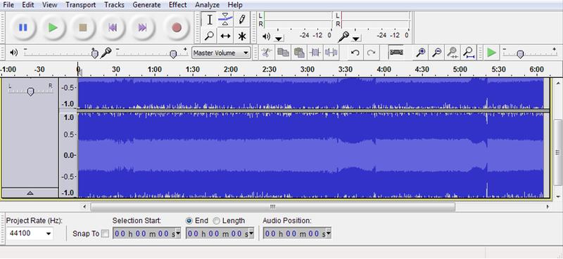 Audacity er et gratis lydprogram