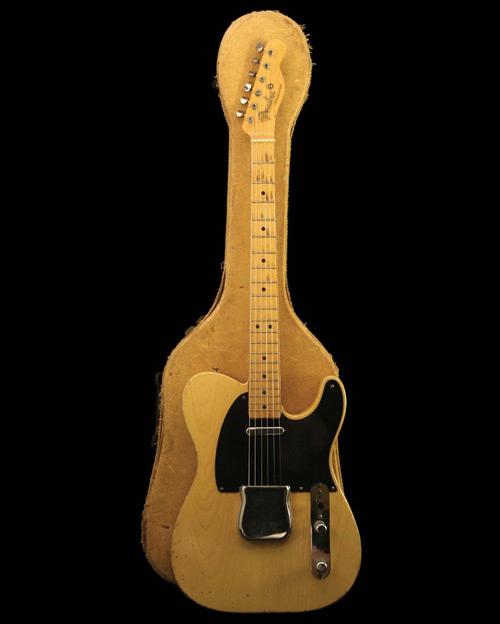 Fender broadcaster guitar fra 1950