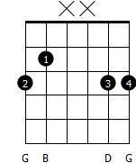 Flytbar G akkord