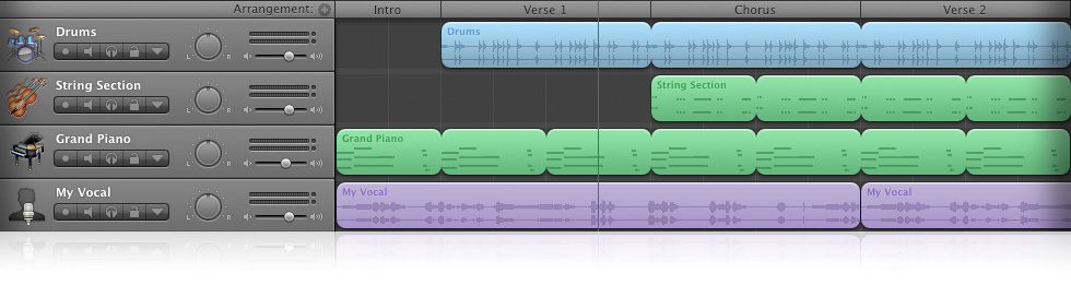 Garageband er et gratis musik program til Mac