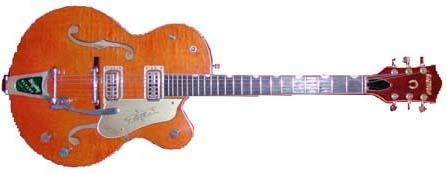 1959 Gretsch 6120 Chet Atkins guitar