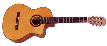 En flot guitar