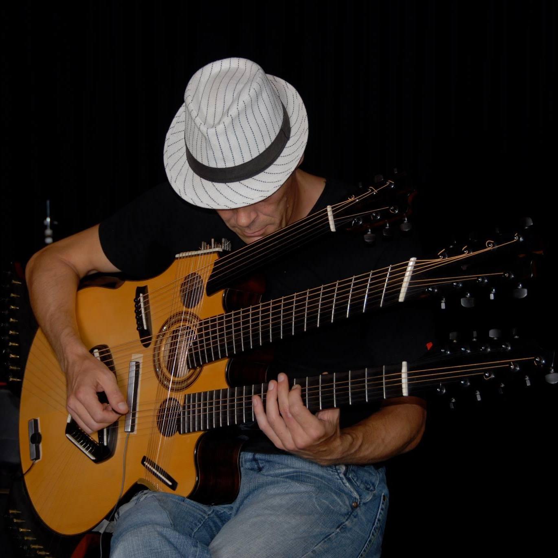 Fingerstyle guitaristen Henrik Andersen