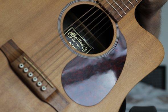 En smuk western guitar