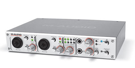 Firewire lydkort fra M-audio