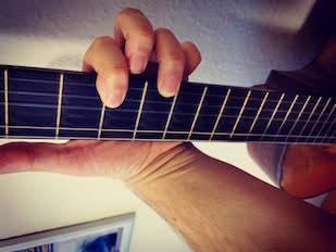 Guitar transponering af akkorder