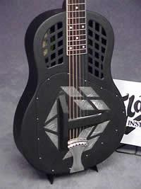 En National guitar er god at spille slide på