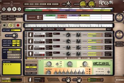 Riffworks er et gratis program til optagelse af guitar