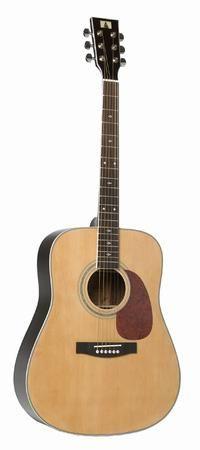 Akustisk guitar(acoustic guitar) er en guitar, som kun bruger akustiske metoder til at skabe den lyd der bliver produceret af dens strenge.