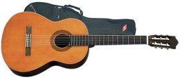 Akustisk spansk klassisk guitar
