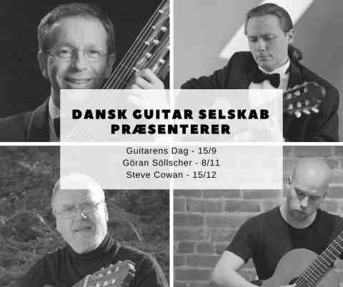 Dansk guitar selskab koncert med Göran Söllscher  8. november 2018 kl. 19:30