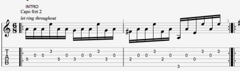 Vores variation af Kim Larsens fingerspils intro