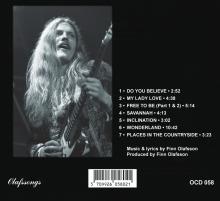 "FINN OLAFSSON: ""Savannah"" - legendary music album now rereleased on CD  Finn Olafssons første solo album ""Savannah"" genudgivet i en re-mastret CD version - i eksklusiv 3-fløjet digipack cover med sangteksterne inkluderet i en lækkert illustreret booklet :"