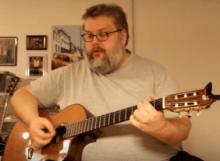 Enkelt sang om frihed akkorder og tekst og strum | Guitarlektion | Guitaren.DK