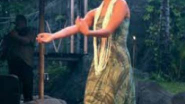 Hula danserinde