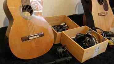 Hold orden i dit guitar og studio grej