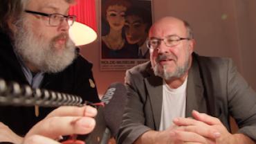 Screenshot af vores video interview med Jan Østergaard fra og om forlaget GUF