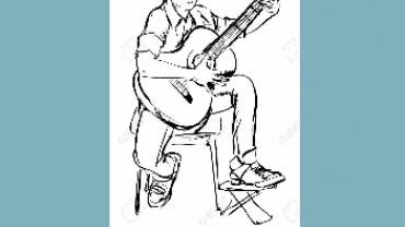 Guitar for begyndere sangbog af Mogens Sørensen
