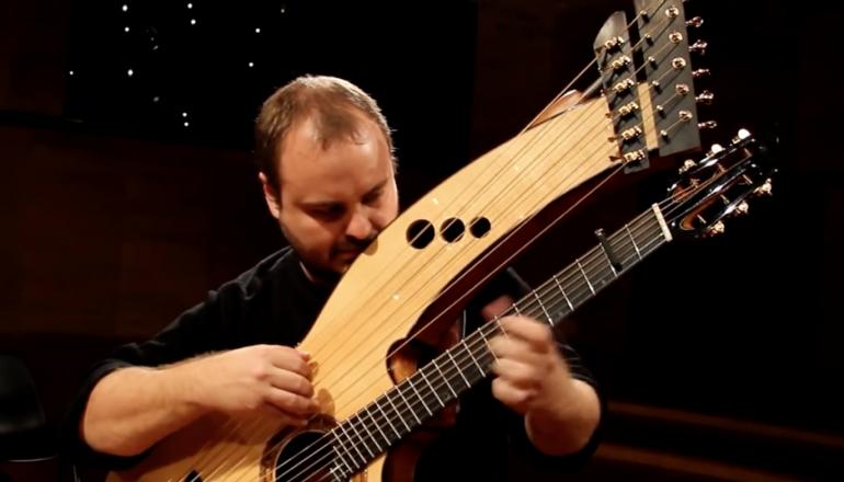 Andy Mckee interviewes her af Fridrikur Ellefsen for guitaren.dk