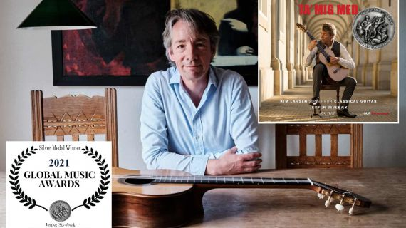 Global Music Awards Silver Medal til Jesper Sivebæk