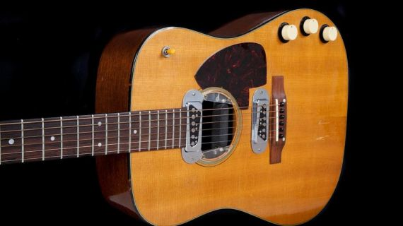 Kurt Cobain's akustiske guitar