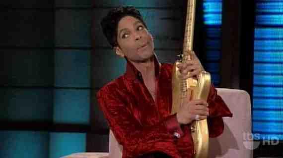 Princes Stratocaster købt af racerkører